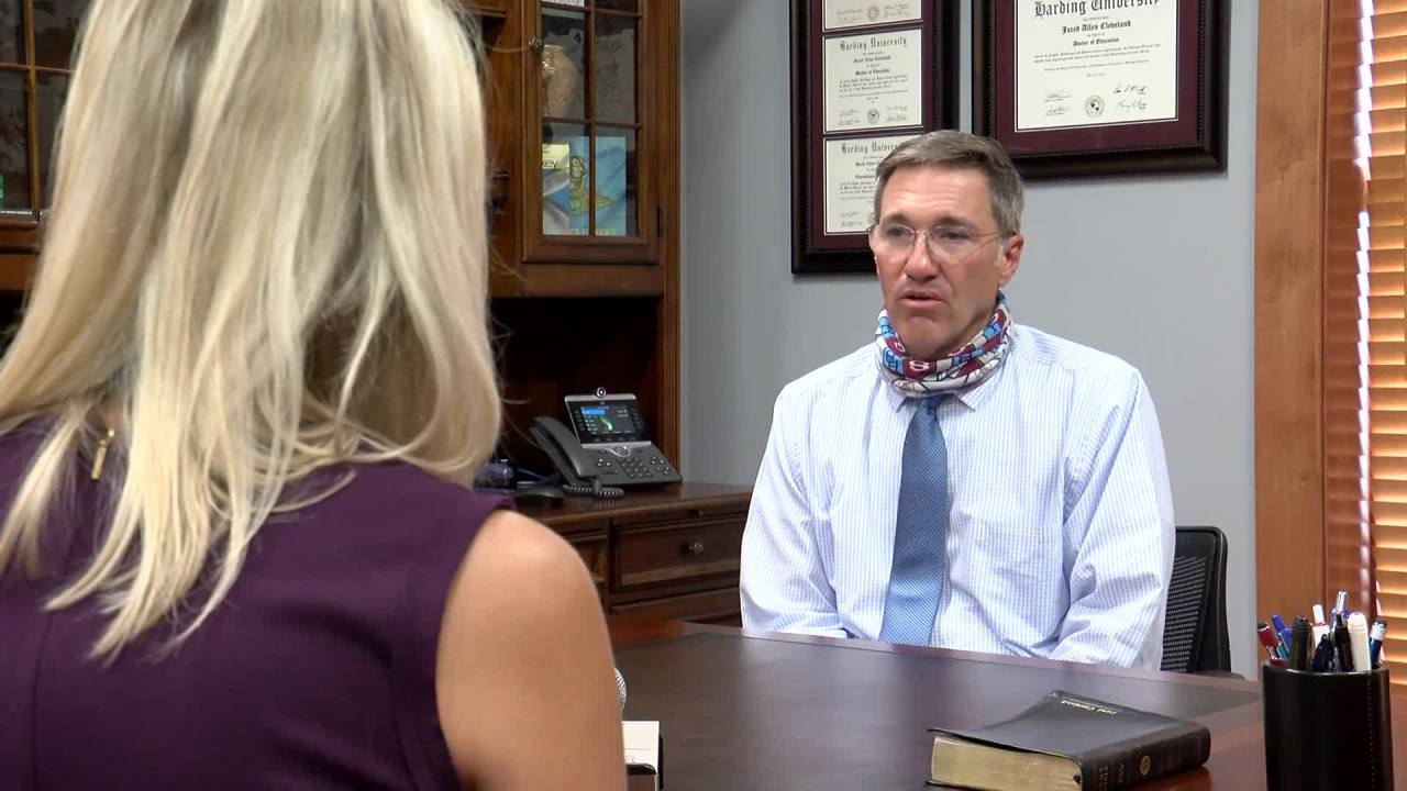 WATCH: Interview with Springdale Superintendent Dr. Jared Cleveland