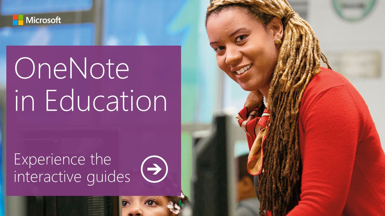 OneNote in Education - Interactive Guides