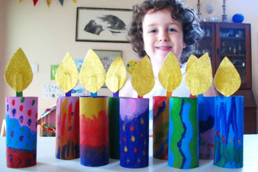 13 Hanukkah Crafts for Kids