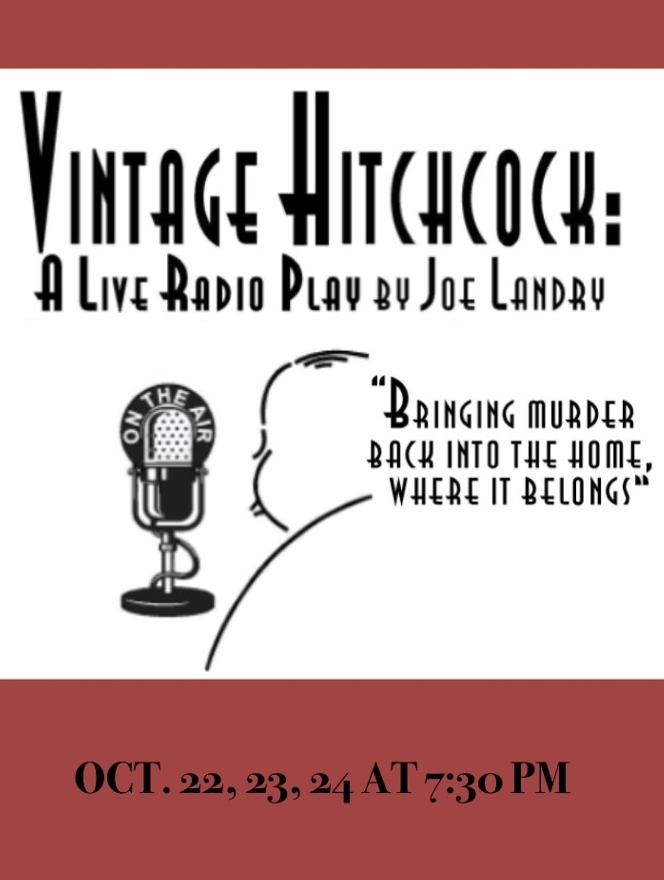 Vintage Hitchcock: A Live Radio Show