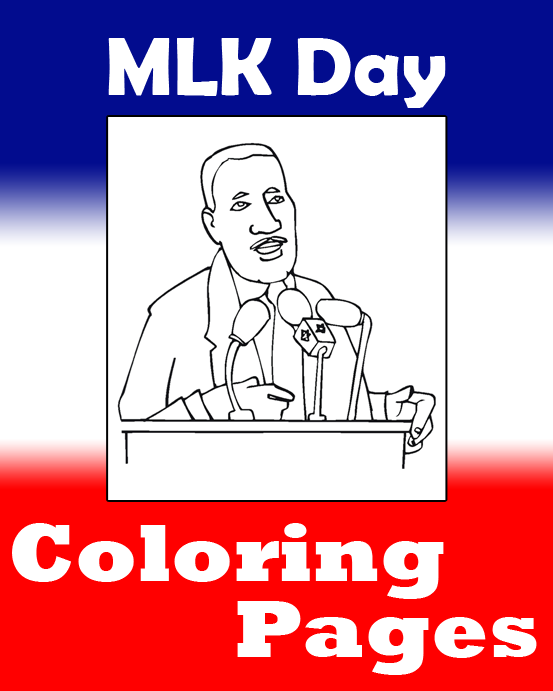 MLK Day Coloring Pages on PrimaryGames.com