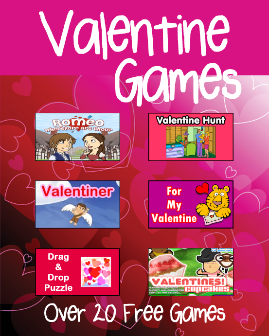 Valentine's Day Games on PrimaryGames.com