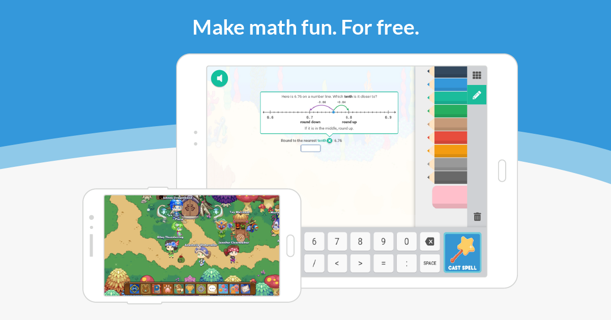 Learn Math For Free. Forever.