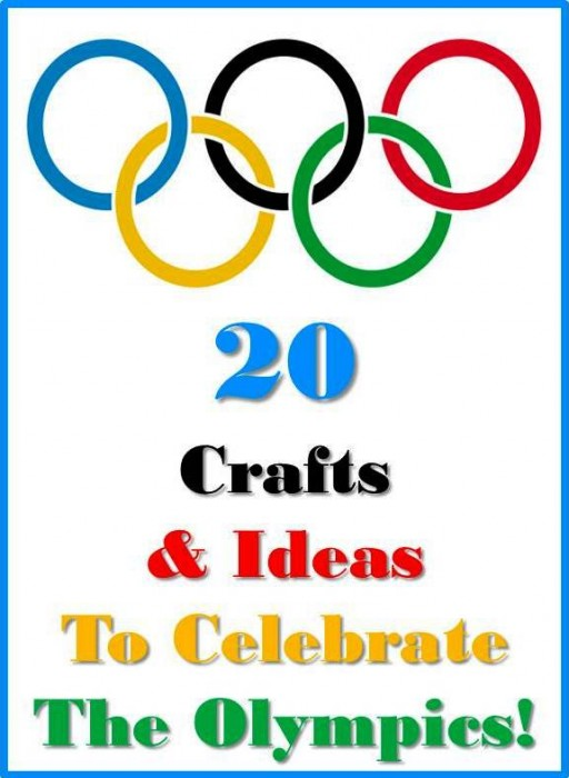 Olympic Crafts: 20+ Crafts, Activities & Ideas to Inspire - Red Ted Art's Blog