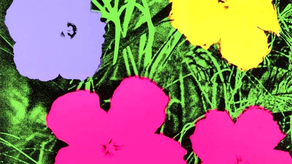 Andy Warhol's Flowers Party