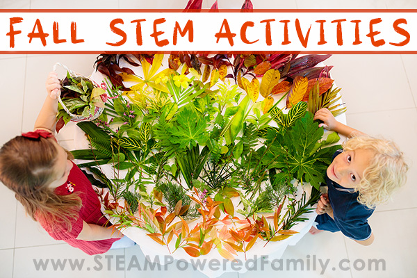 Fall STEM Activities- Celebrate the changing of the leaves and seasons