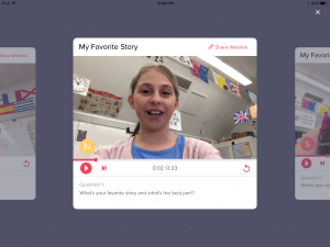 Introducing Recap: A video response and reflection tool