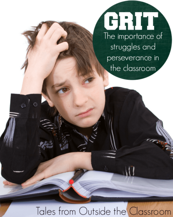 GRIT: What is it? - Tales from Outside the Classroom