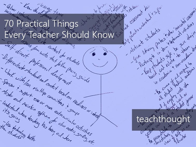 70 Practical Things Every Teacher Should Know