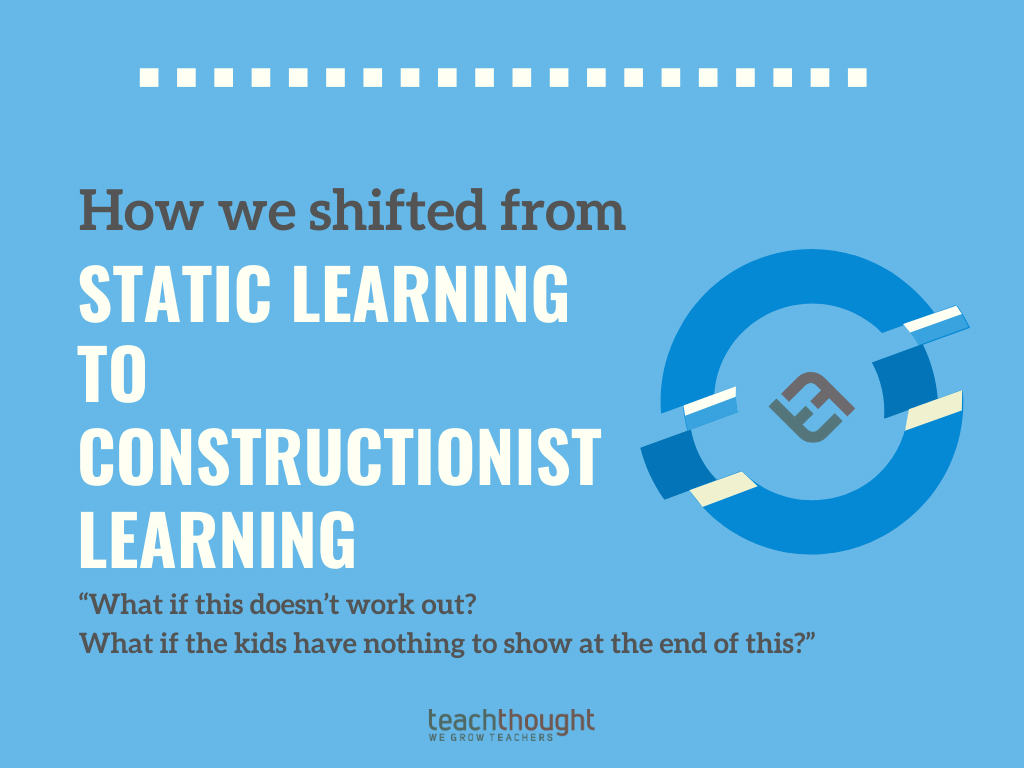 How We Shifted From From Static Learning To Constructionist Learning -