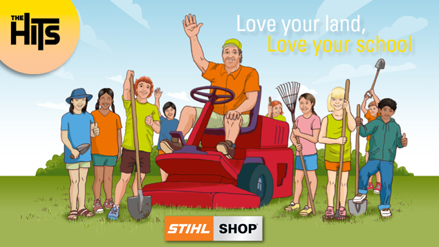 Love Your Land, Love Your School with STIHL SHOP