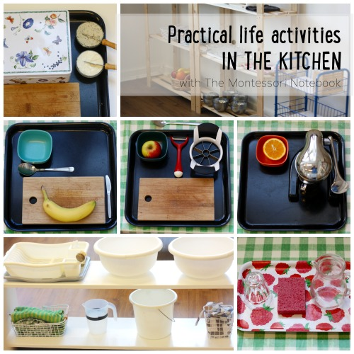 Montessori activities at home with toddlers and preschoolers - The Montessori Notebook