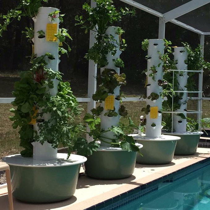 Tower Garden: Grow Food with a Vertical, Aeroponic System