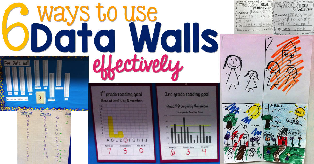 6 Ways to Use Data Walls Effectively
